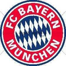 FC Bayer München címer gobelin